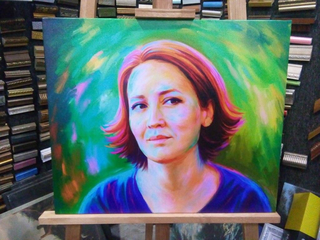 заказать арт портрет на холсте в Санкт-Петербурге
