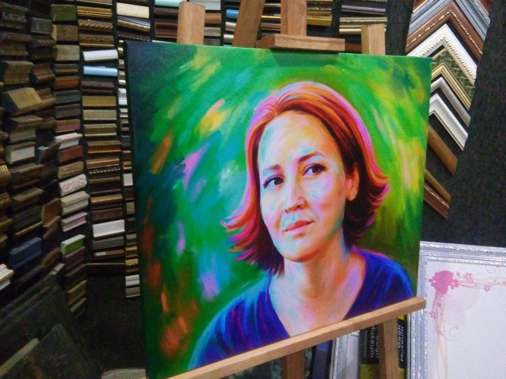 креативный портрет на заказ в Санкт-Петербурге
