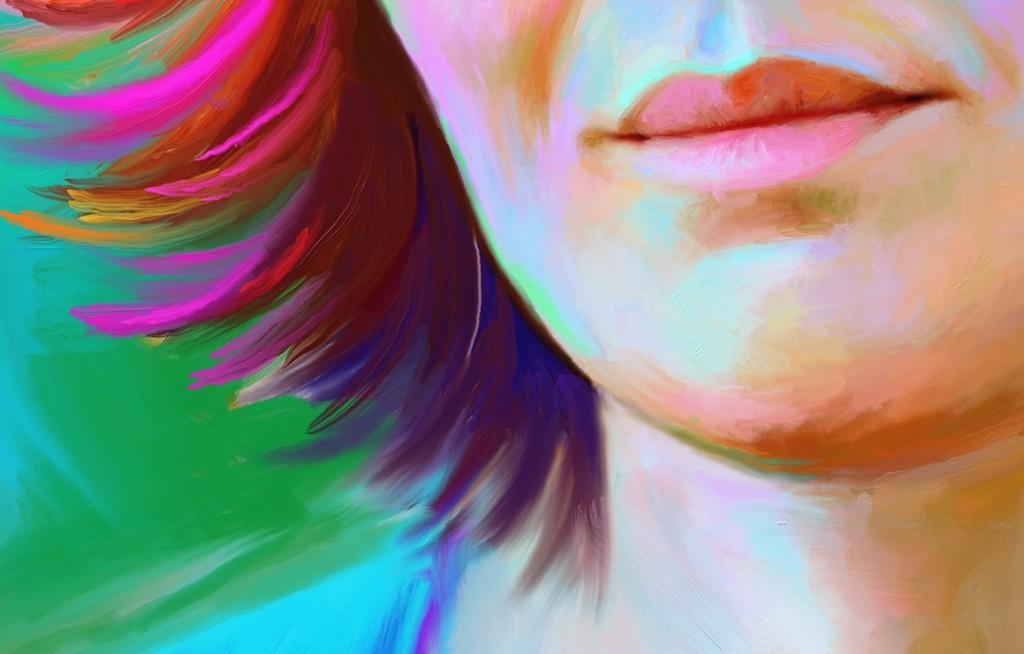 заказать портрет в стиле art brush в Санкт-Петербурге