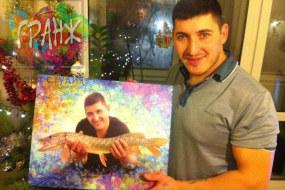 Прекрасный подарок рыбаку…