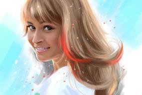 Креативный Арт портрет по фото, взгляните на живопись по новому…