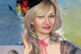 Заказать арт портрет по фото на холсте в Санкт-Петербурге