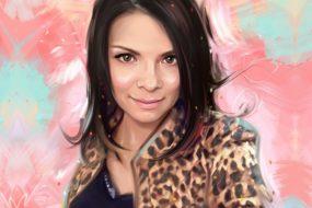 Портрет по фото, подарок на 14 февраля. Заказать в Санкт-Петербурге