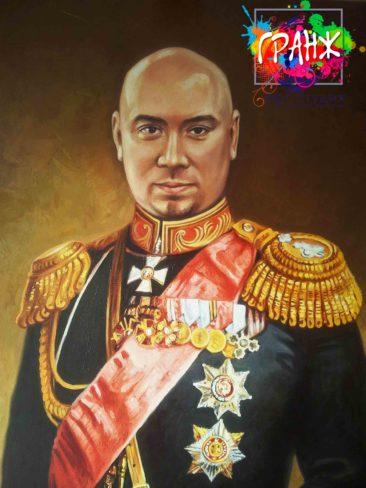 Заказать портрет маслом в Санкт-Петербурге