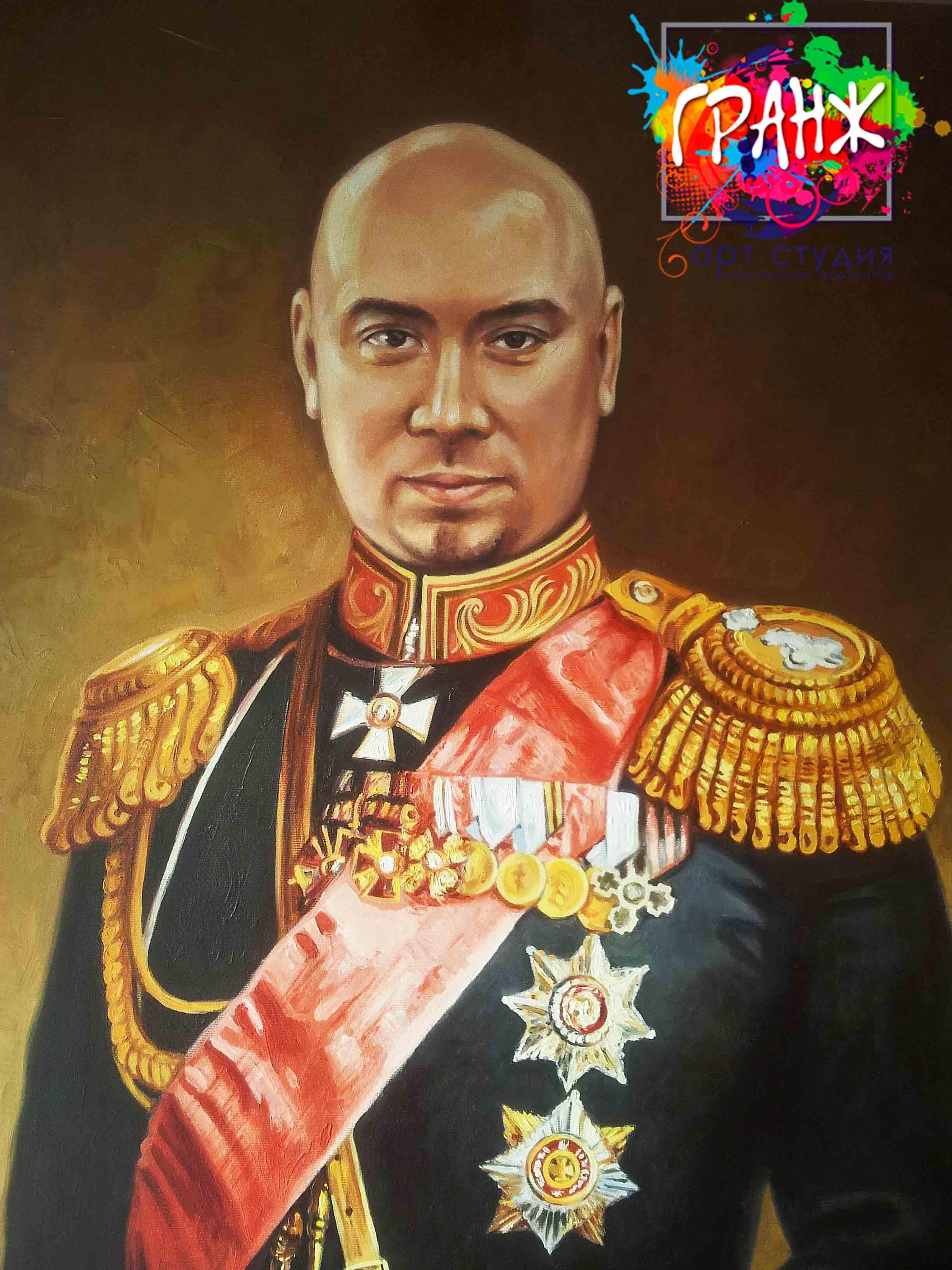 Заказать портрет маслом по фотографии в Санкт-Петербурге