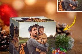 Фотокубик трансформер, купить в подарок Санкт-Петербург
